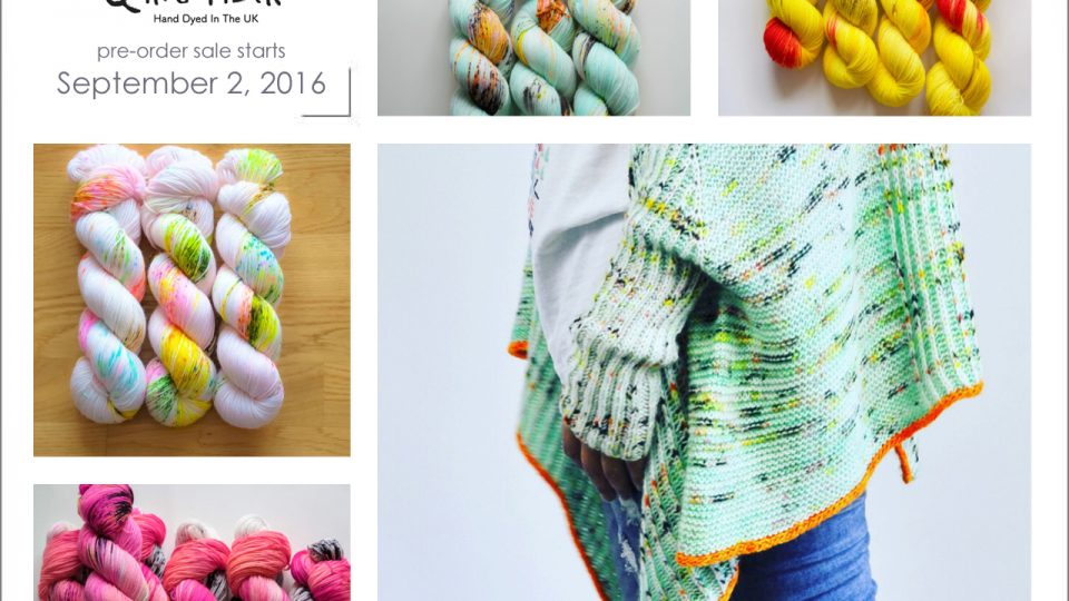 Yarn Bundles for Shusui Shrug (Main Color) by Qing Fiber, Pre-Order Sale starts September 2, 2016