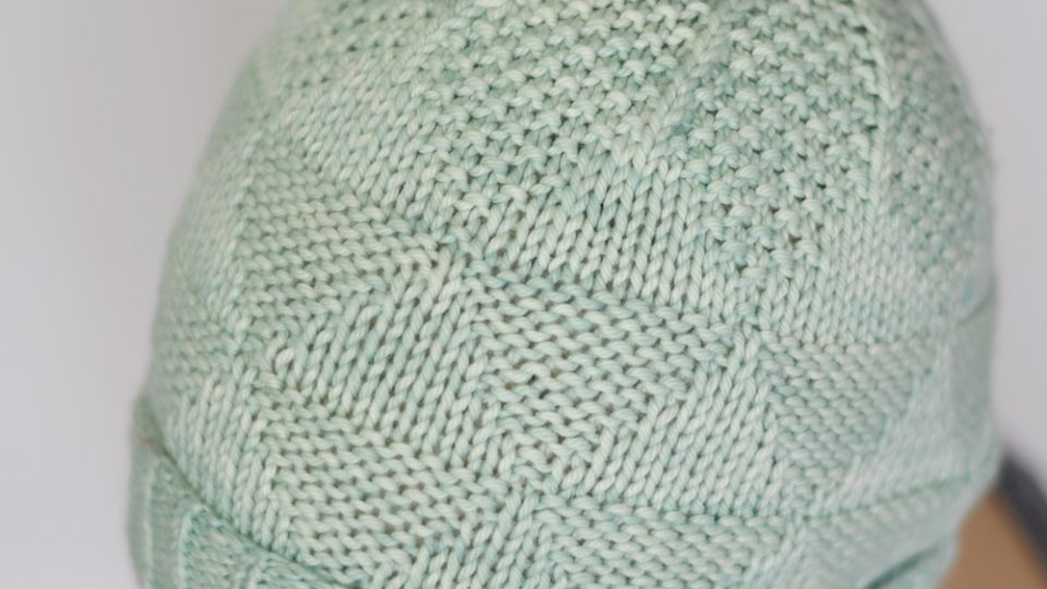 Triangle Texture Hat