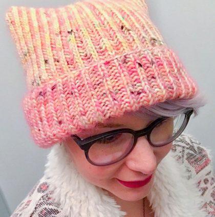 Brioche Kitty Hat